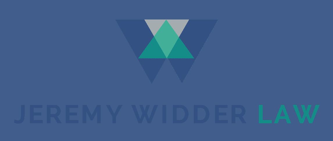 Jeremy Widder Law Logo