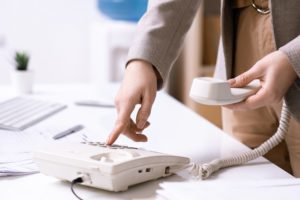 Patching through phone call for Maryland Courts COVID-19 updates